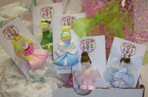 Sleeping Beauty, Tink, Cinderella, Ballerina & Lavender Fairy